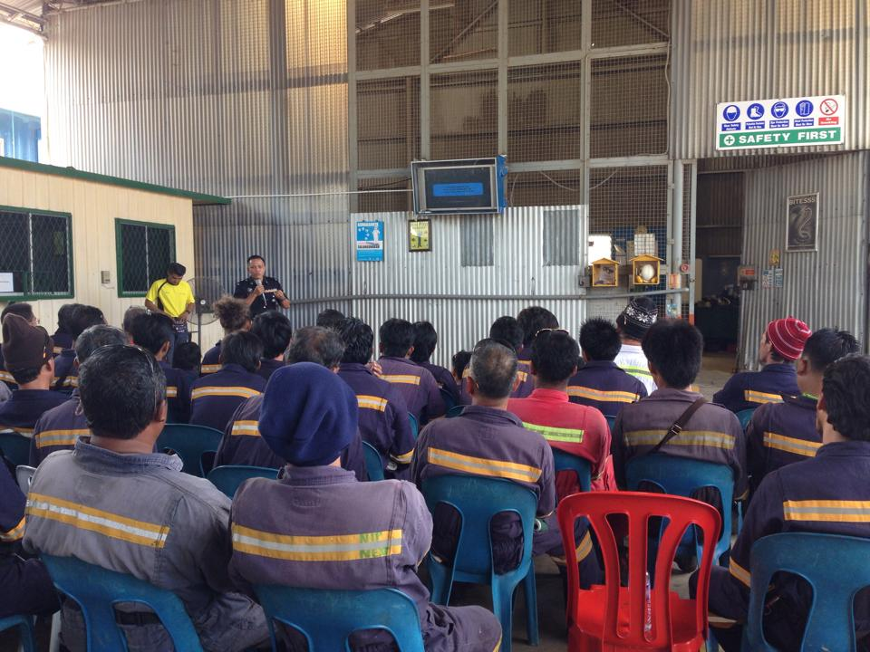Talk held by DSP Douglas related to Crime & Investigation